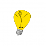 Al in light bulb